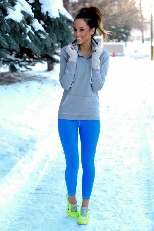 O que usar para malhar no frio