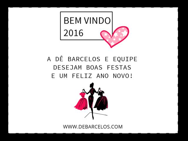 Cartão Boas Festas - Dê Barcelos
