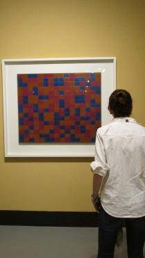 """Visitação à exposição """"Mondrian e o Movimento de Stijl"""" - Imagens: Ricardo Paulo"""
